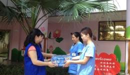 志愿服务在行动  情暖童心送温暖