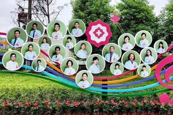 2020年医师节文化墙