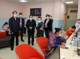 中国妇幼保健协会一行来院调研成都妇幼保健工作